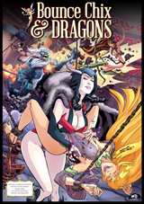 Bounce Chix and Dragons #2 Cover Thumb