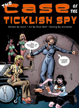 The Case of the Ticklish Spy #1 Cover Thumb
