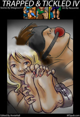 TRAPPED & TICKLED #4 Cover Thumb