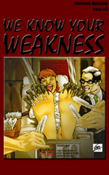 WE KNOW YOUR WEAKNESS #03 Cover Thumb
