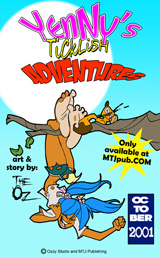 Yenny's Ticklish Adventures 01 Cover Thumb