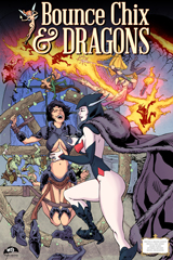 Bounce Chix and Dragons #1 Cover Thumb