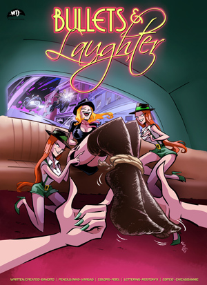 Bullets & Laughter #2 cover thumb