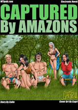 Captured By Amazons! Cover Thumb