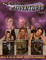 TICKLISH ADVENTURES #04 Cover Thumb