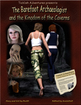 The Barefoot Archaeologist #2: The Kingdom of the Caverns thumb