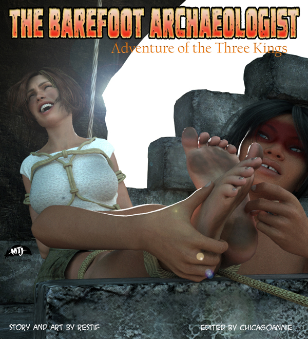 The Barefoot Archaeologist #5: Adventure of the Three Kings Cover Art