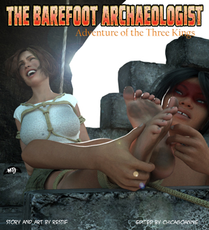 The Barefoot Archaeologist #5: Adventure of the Three Kings cover thumb