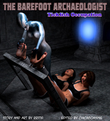 The Barefoot Archaeologist #6: Ticklish Occupation Cover Thumb