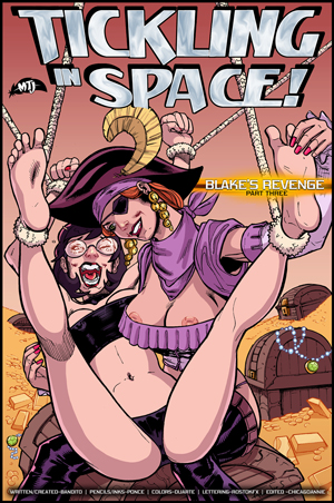 Tickling in Space 10: Blake's Revenge Part 3 cover thumb