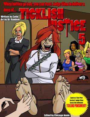 TICKLISH JUSTICE #5 cover thumb