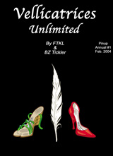 Vellicatrices: Unlimited Pinup Book #1 Cover Thumb